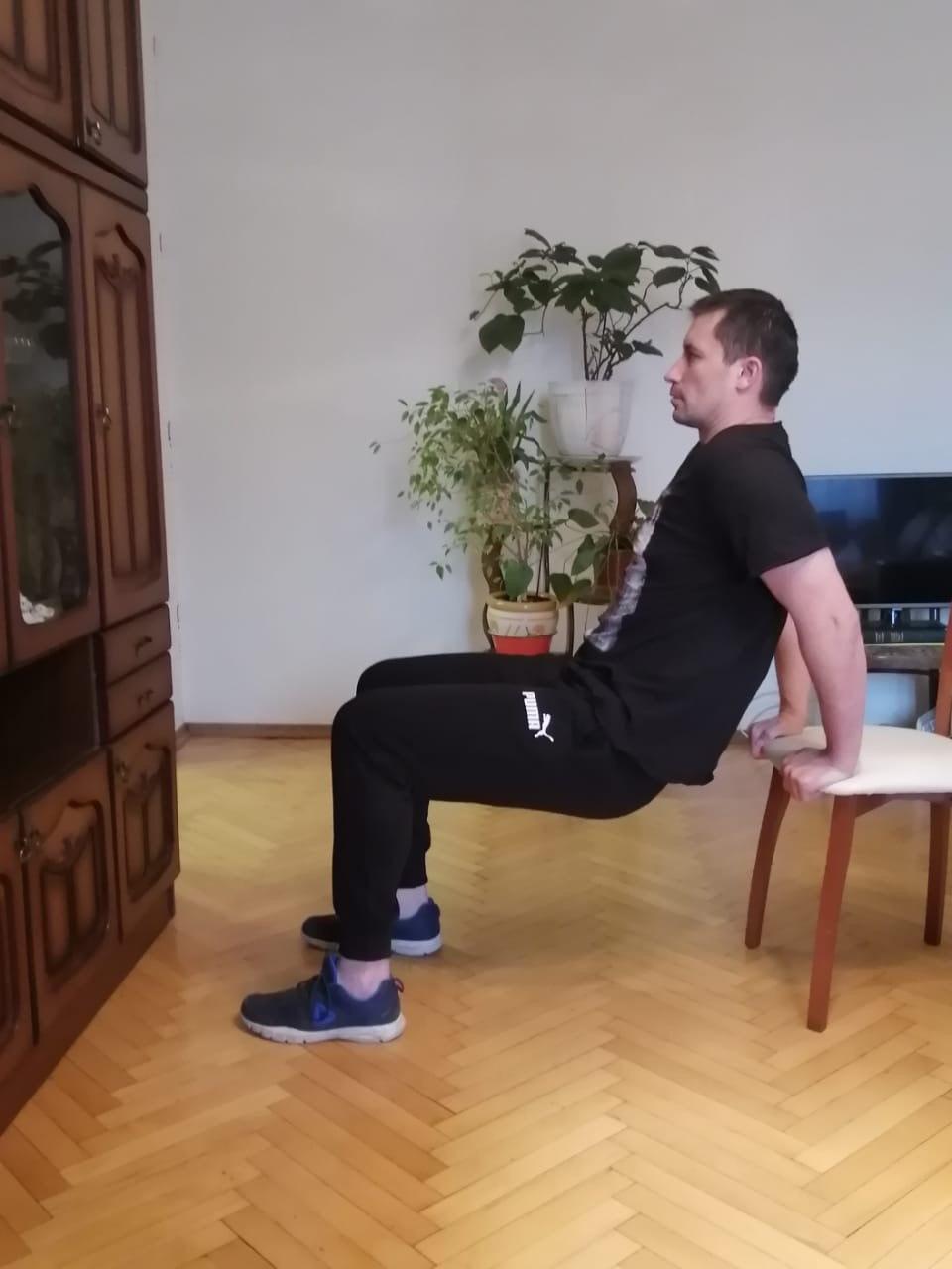 Упражнение для трицепса