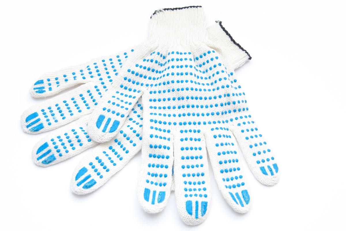 Рабочие трикотажные перчатки