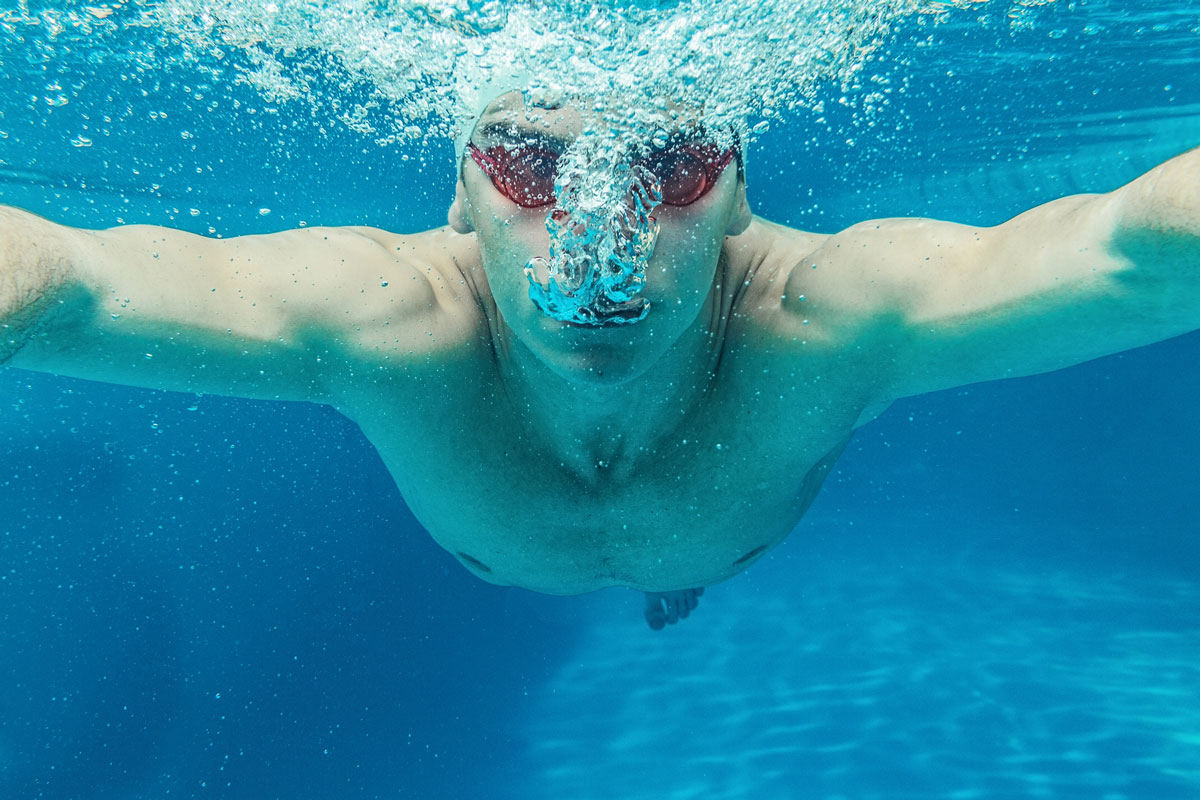 дыхание при плавании