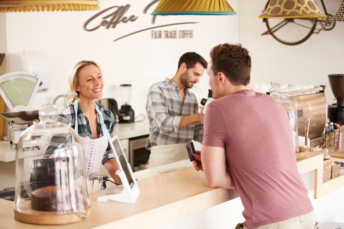 Разговор в кофейне
