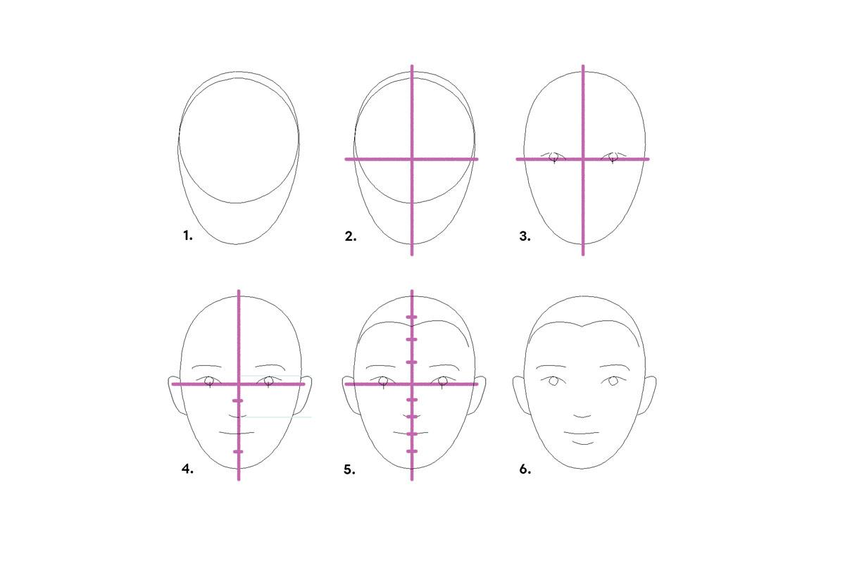 основные черты лица