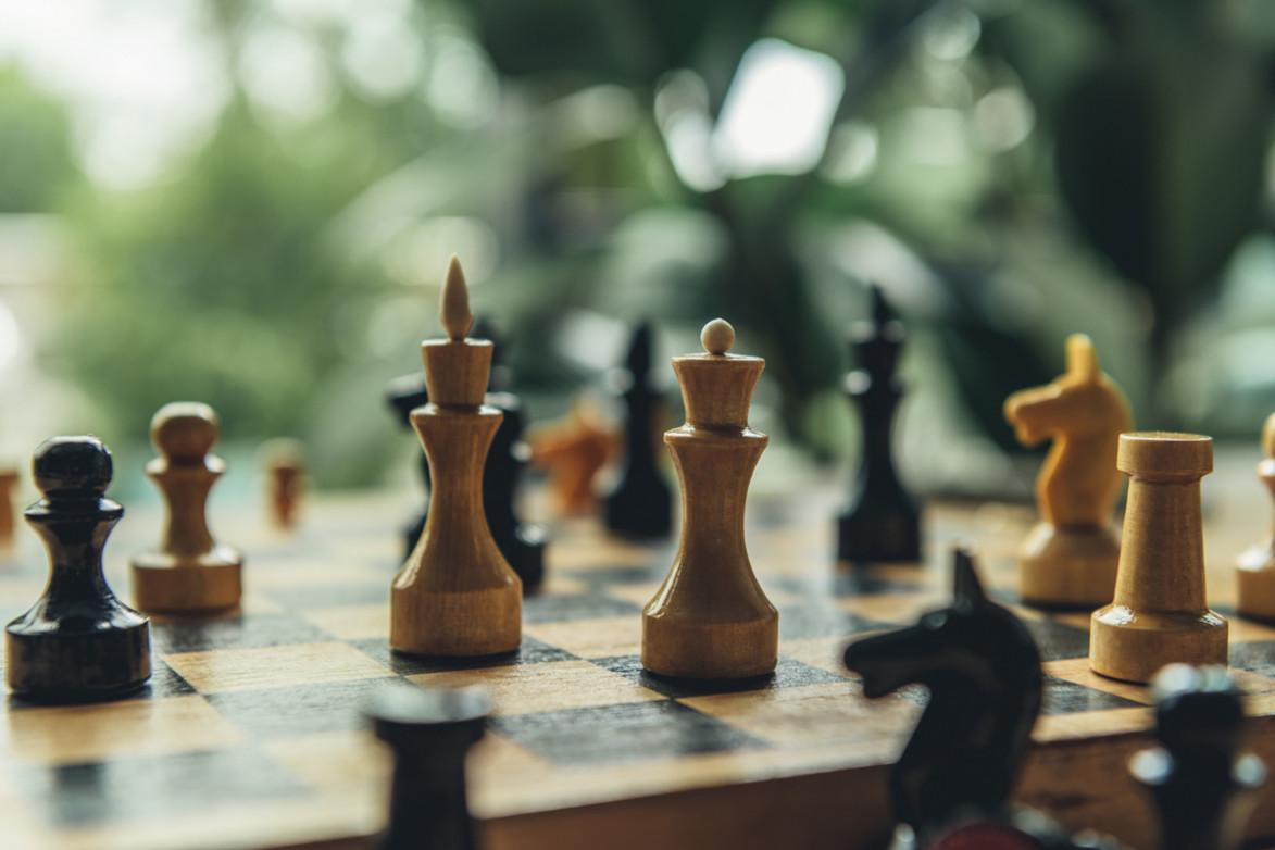 Доска с шахматами