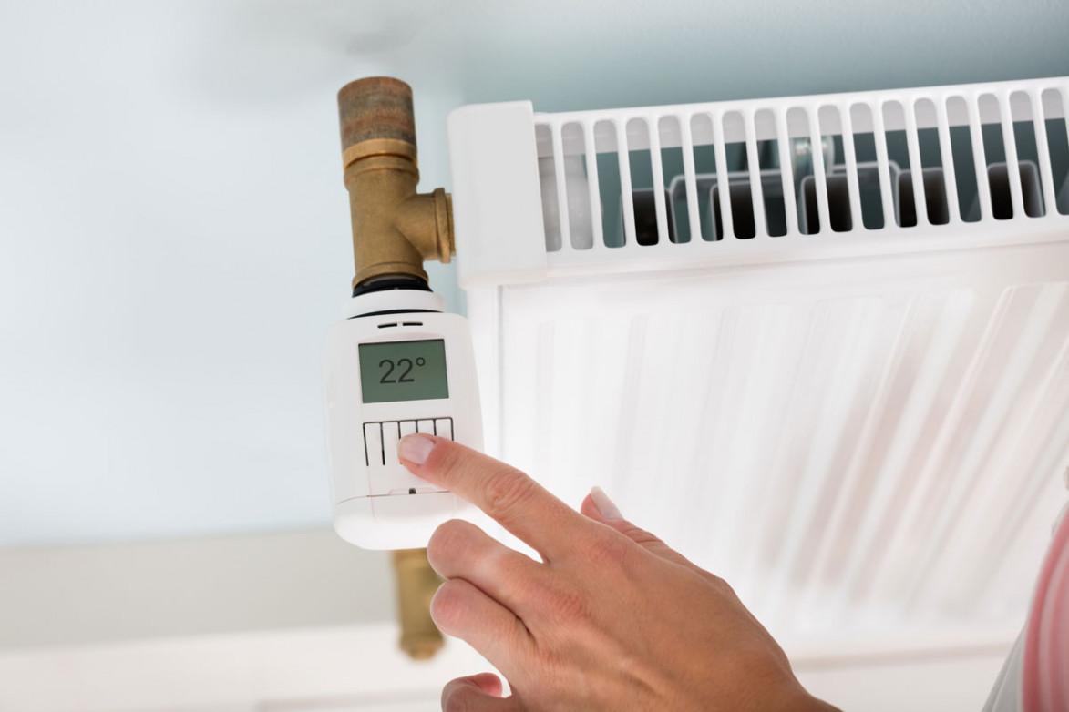 Радиатор с регулировщиком температуры