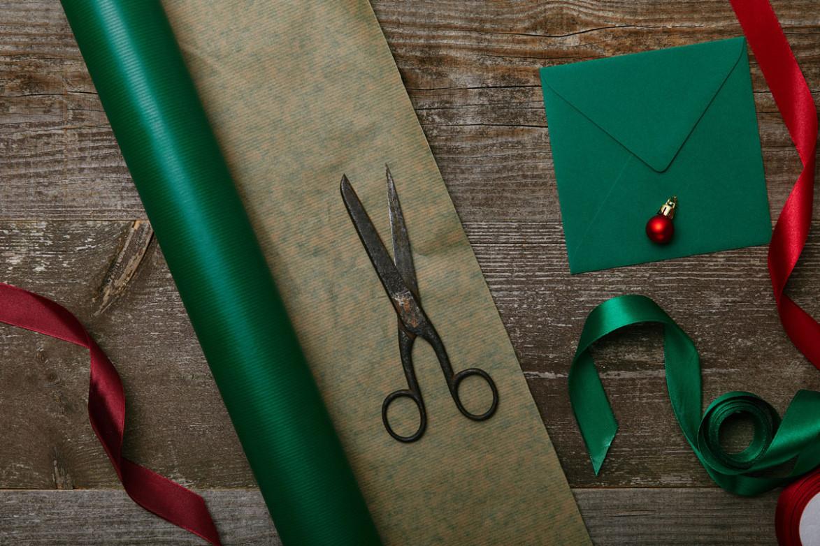 Аксессуары для упаковки новогодних подарков