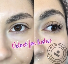 Процедура до ресниц Velvet for lashes