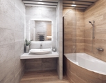 Loft bathroom