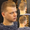 Low pomp x taper fade