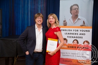На обучении у Chris Roland, тренинг English for Young Learners and Teenagers, 2019