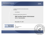 IBM Certified System Administrator - AIX 6.1 Administration
