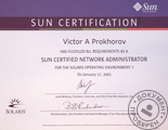 Sun Certified Network Administrator