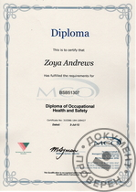 Diploma of Occupational Health and Safety