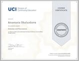 Сертификат о прохождении курса Grammar and Punctuation by University of California, Irvine