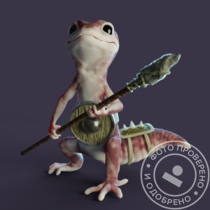 Gecko character