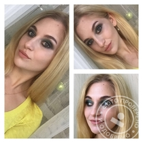 Smoky eyes в зеленых тонах